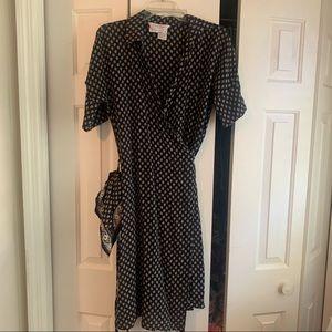 MaxMara wrap dress size 10
